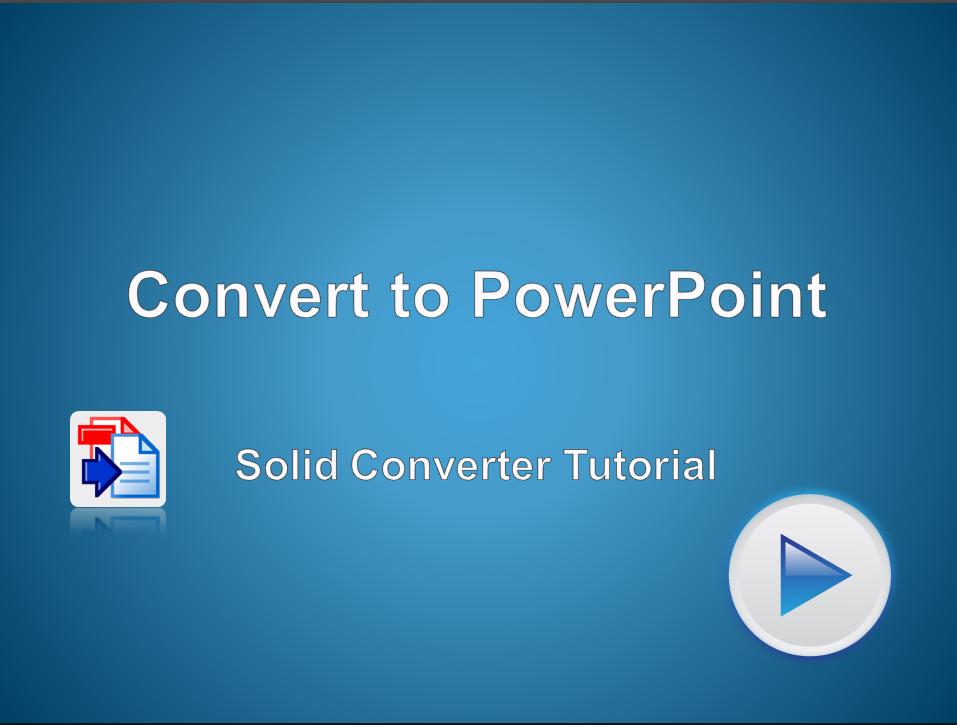 PDF в PowerPoint