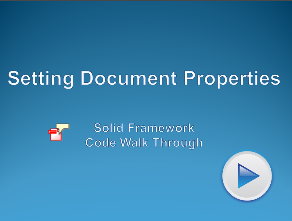 Read and Modify Document Information in PDF files
