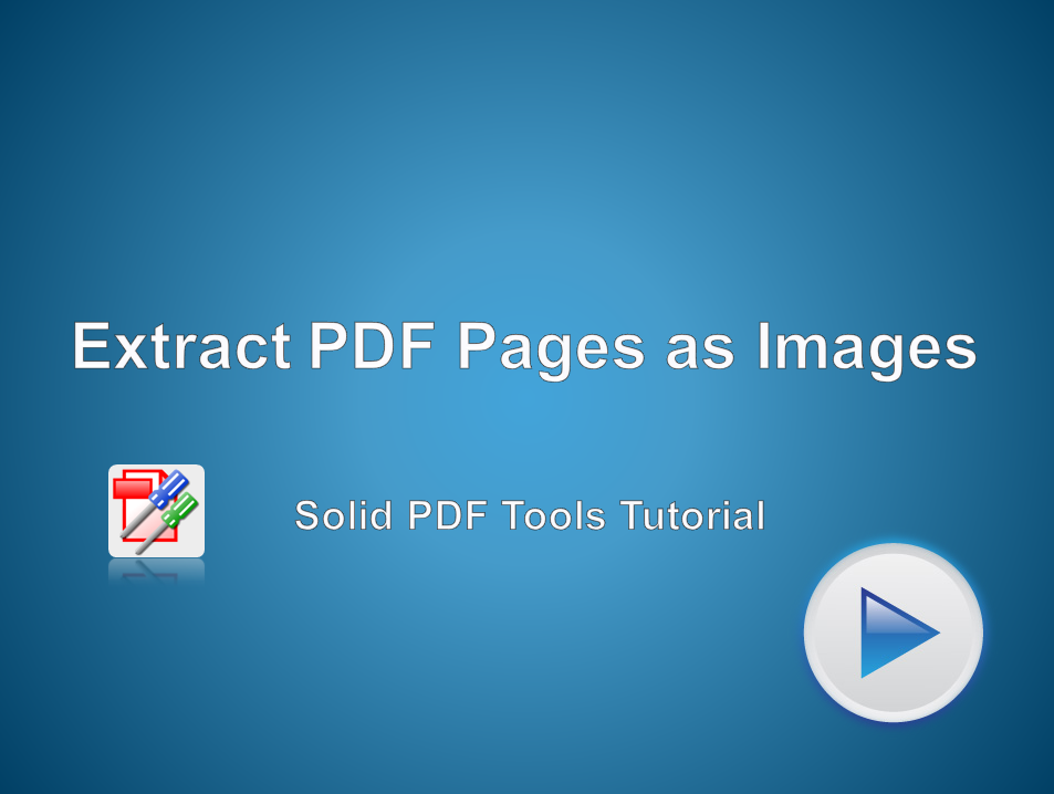 PDF Pages to Images