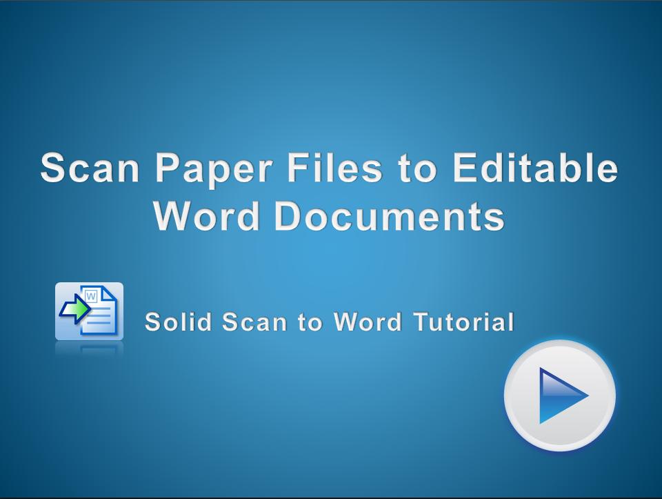 Scan PDF-bestanden naar bewerkbare Word-documenten